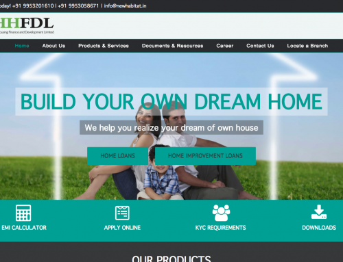 New Habitat Housing Finance Limited | Website Development
